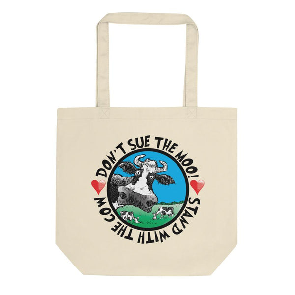 @DEVINCOW DON'T SUE THE MOO TOTE-TOTE BAG-PLAYING POLITICS