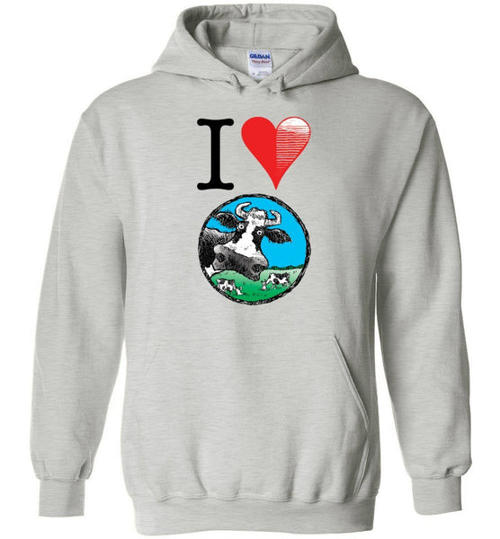 @DEVINCOW I HEART DEVINCOW HOODIE-HOODIES-PLAYING POLITICS