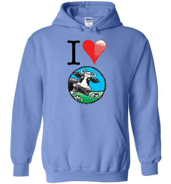 @DEVINCOW I HEART DEVINCOW HOODIE - PLAYING POLITICS
