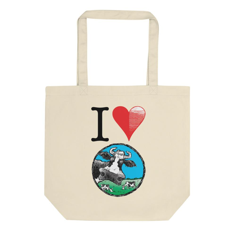 @DEVINCOW I HEART DEVINCOW TOTE-TOTE BAG-PLAYING POLITICS