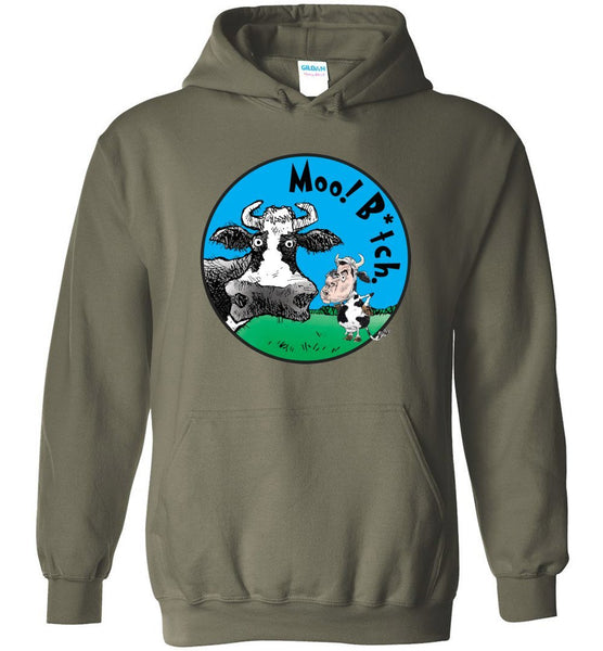 @DEVINCOW MOO B*TCH HOODIE-HOODIES-PLAYING POLITICS