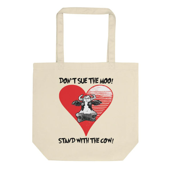 @DEVINCOW STAND WITH THE COW TOTE-TOTE BAG-PLAYING POLITICS
