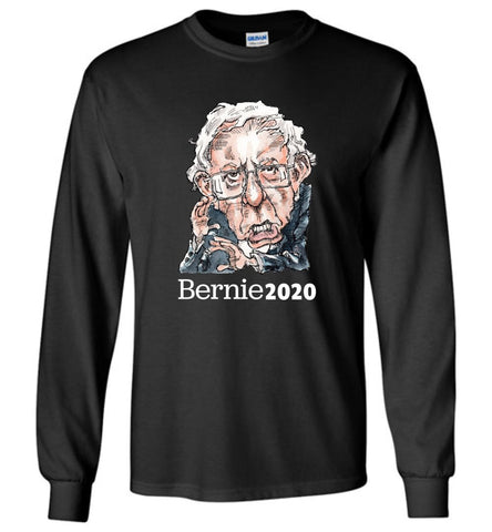 BERNIE 2020 LONG SLEEVED TEE-LONG SLEEVED TEE-PLAYING POLITICS