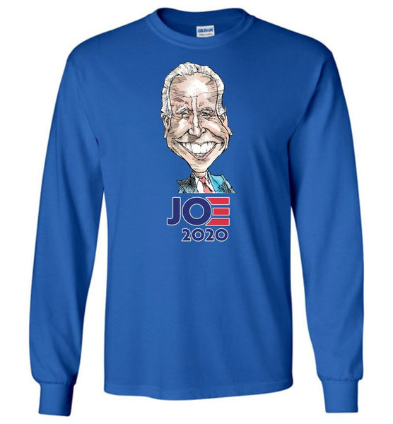 BIDEN 2020 LONG SLEEVED TEE-LONG SLEEVED TEE-PLAYING POLITICS