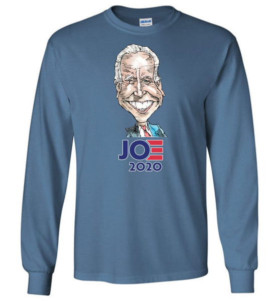 BIDEN 2020 LONG SLEEVED TEE - PLAYING POLITICS