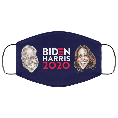 BIDEN HARRIS 2020 Face Mask-Accessories-PLAYING POLITICS