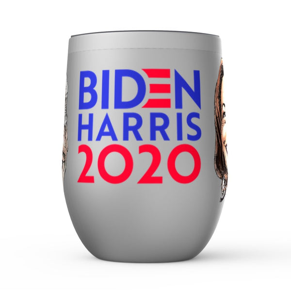 BIDEN HARRIS 2020 Wine Tumbler-WINE TUMBLER-PLAYING POLITICS