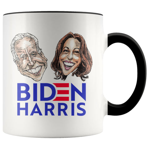 BIDEN HARRIS COFFEE MUG-Drinkware-PLAYING POLITICS