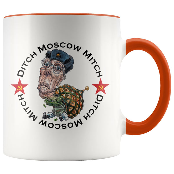DITCH MOSCOW MITCH COFFEE MUG - PLAYING POLITICS