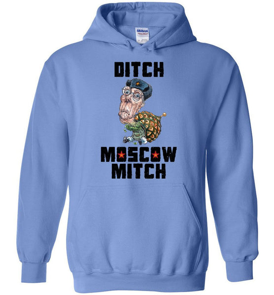 DITCH MOSCOW MITCH HOODIE-HOODIES-PLAYING POLITICS