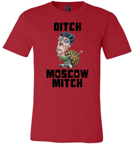 DITCH MOSCOW MITCH TEE-TEES-PLAYING POLITICS