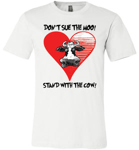 DON'T SUE THE MOO! TEE-TEES-PLAYING POLITICS