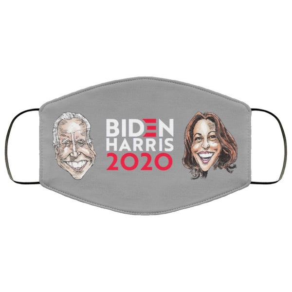 BIDEN/HARRIS 2020 FACE MASK-Accessories-PLAYING POLITICS