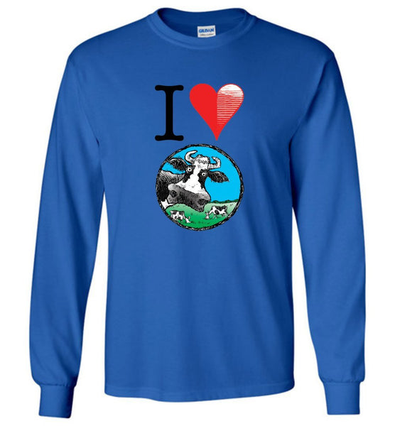 I HEART @DEVINCOW LONG SLEEVED TEE-LONG SLEEVED TEE-PLAYING POLITICS