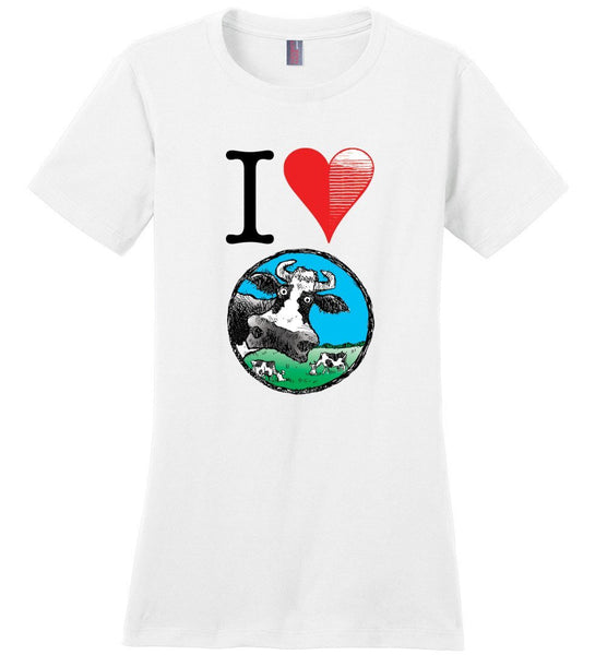 I HEART DEVIN COW TEE-TEES-PLAYING POLITICS