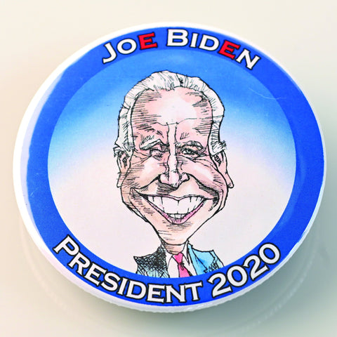 JOE BIDEN BUTTON-BUTTON-PLAYING POLITICS