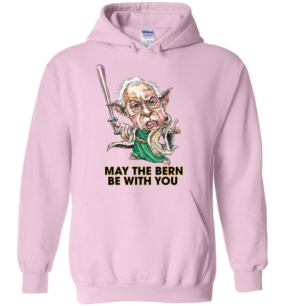 MAY THE BERN BE WITH YOU HOODIE - PLAYING POLITICS