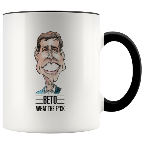 BETO COFFEE MUG - PLAYING POLITICS