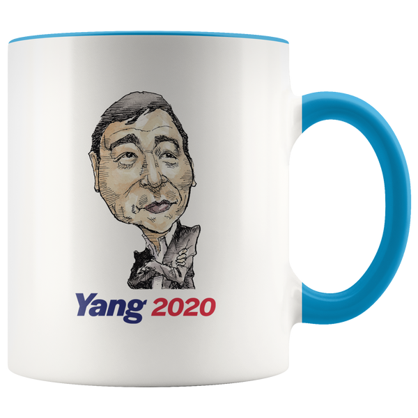ANDREW YANG 2020 COFFEE MUG - PLAYING POLITICS