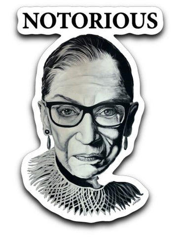 RBG DECALS-DECAL-PLAYING POLITICS