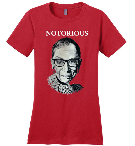 "RBG ""NOTORIOUS"" TEE-TEES-PLAYING POLITICS"