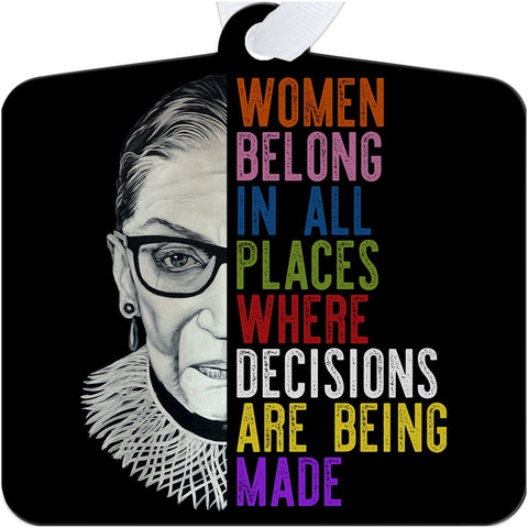 RBG ORNAMENTS-ORNAMENT-PLAYING POLITICS
