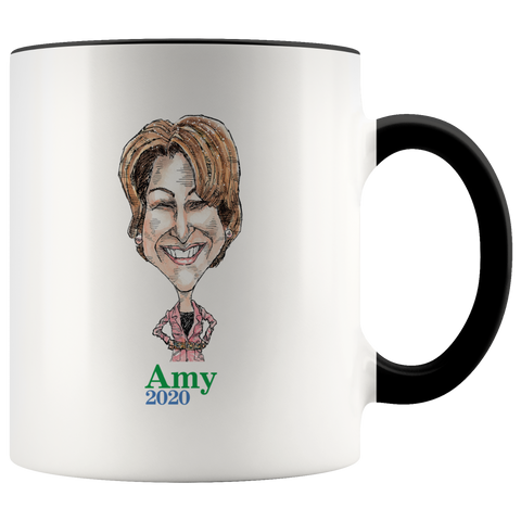 AMY KLOBUCHAR 2020 COFFEE MUG - PLAYING POLITICS