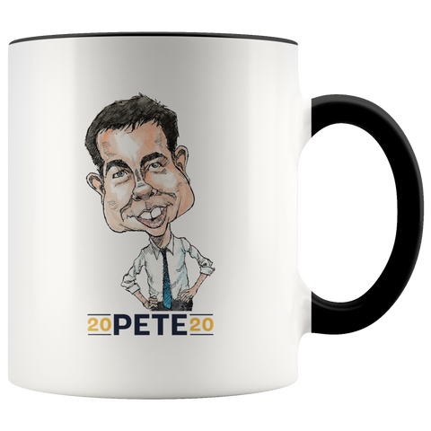PETE BUTTIGIEG 2020 COFFEE MUG - PLAYING POLITICS
