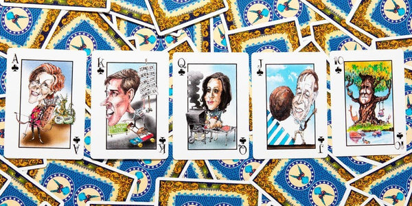 THE 20/20 VISION DECK-PLAYING CARDS-PLAYING POLITICS