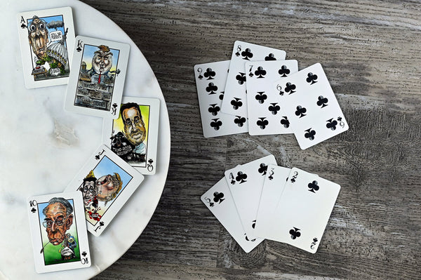 THE UNPRESIDENTED DECK-PLAYING CARDS-PLAYING POLITICS