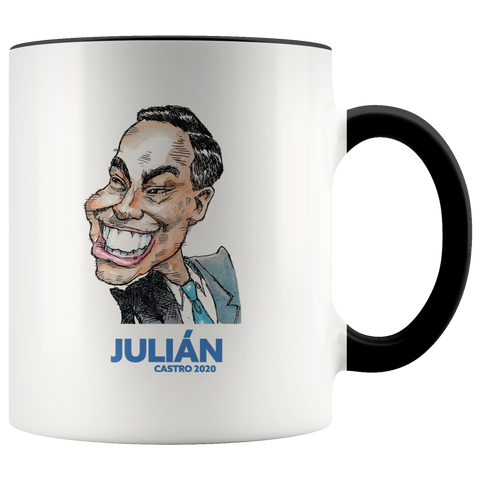JULIAN CASTRO 2020 COFFEE MUG - PLAYING POLITICS