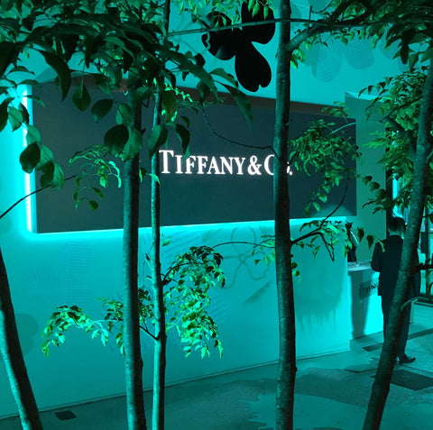 tiffany&co neon sign