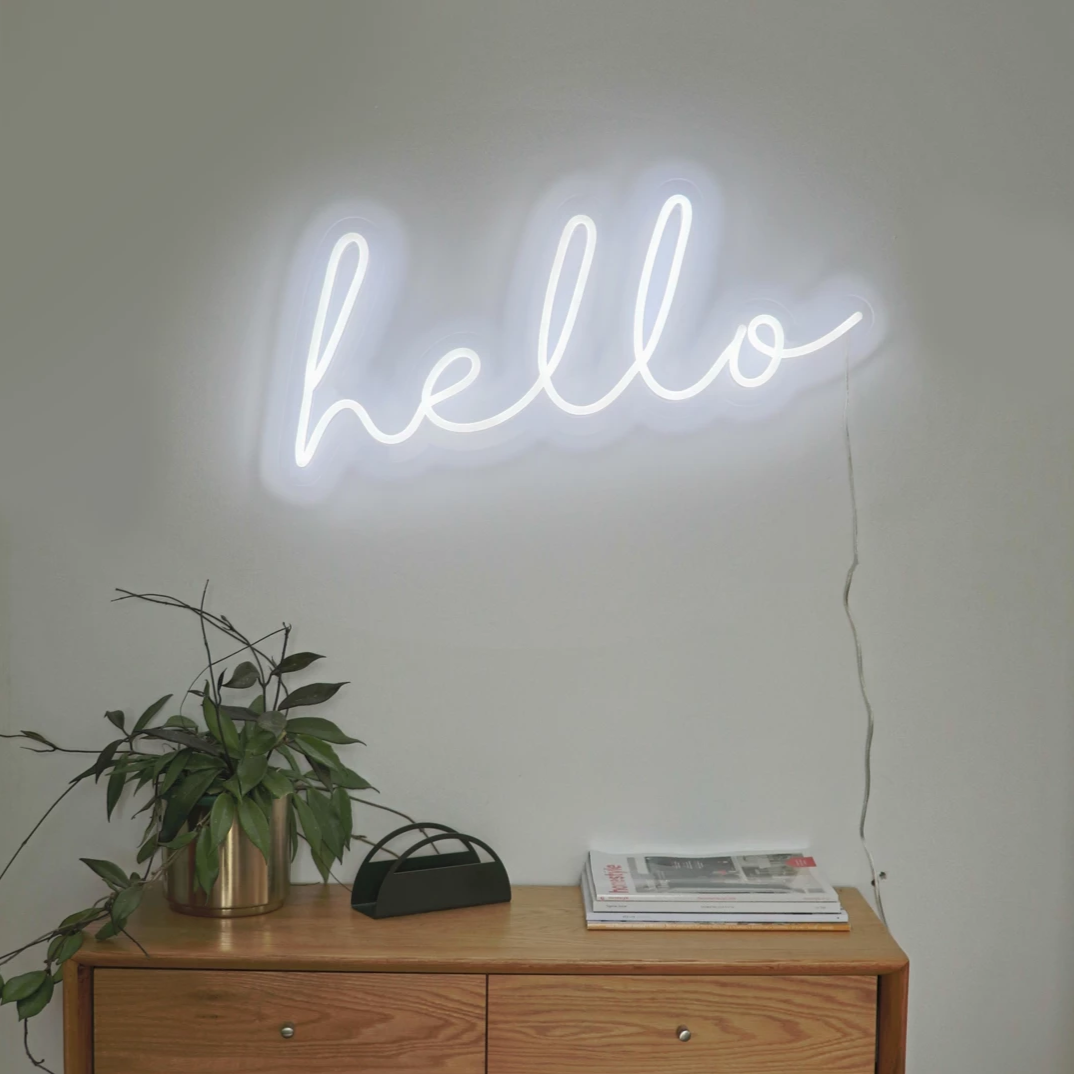 Hello | LED Neon Sign