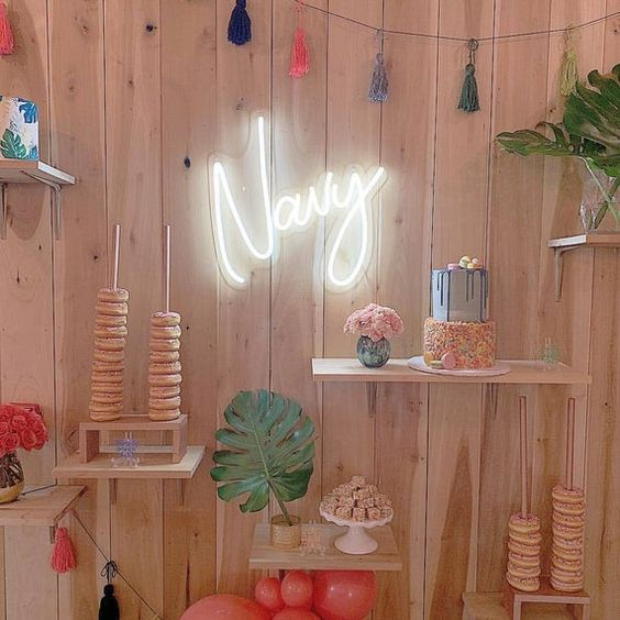 nursery custom neon sign