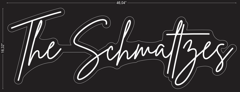"Custom ""The Schmaltzes"" Neon Sign"