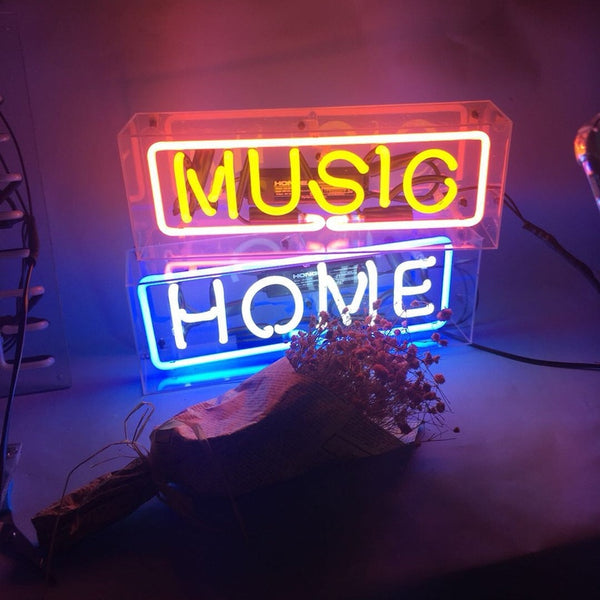 HOME | Neon Sign in Acrylic Box