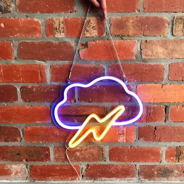 Thunder Cloud | LED Neon Sign