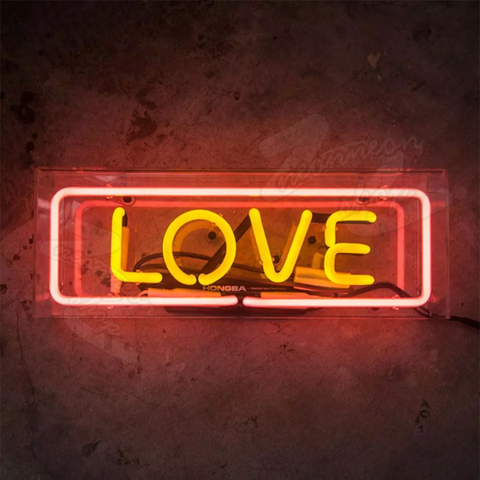 love box neon sign