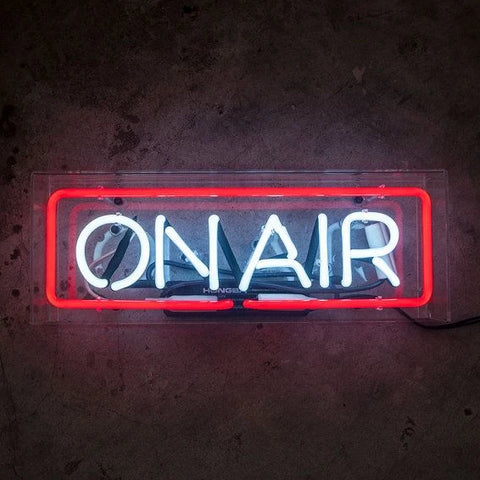 ON AIR | Neon Sign in Acrylic Box
