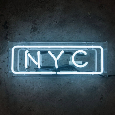 NYC | Neon Sign in Acrylic Box