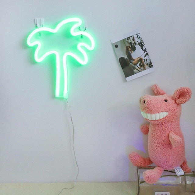 palm neon sign