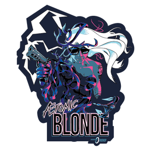 Keepin' It 100 — Ætomic Blonde — Sticker