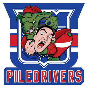 Jim Davis — Piledrivers — Sticker