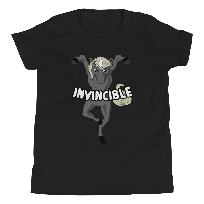 Invincible009 Bella + Canvas 3001Y Youth Short Sleeve Tee with Tear Away Label