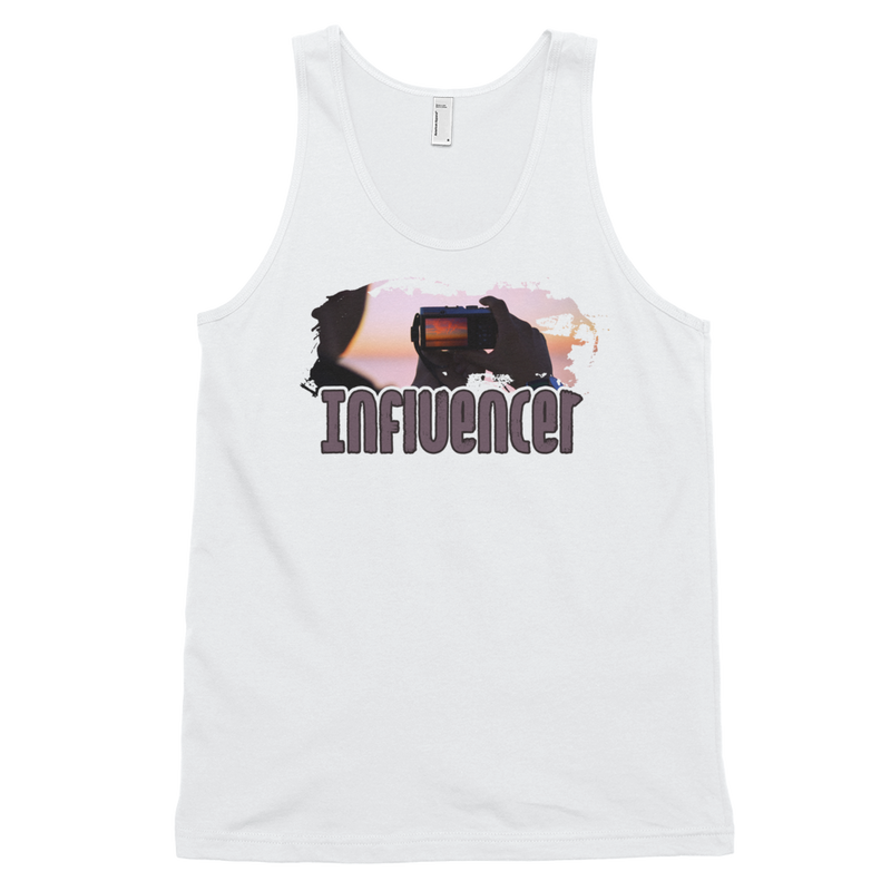 Influencer005 American Apparel 2408 Fine Jersey Tank Top Unisex