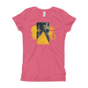 Explore The World0023  Next Level 3710 Girl's The Princess Tee with Tear Away Label