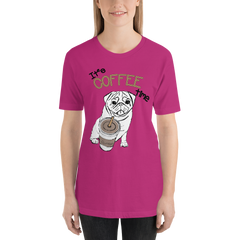 Its Coffee Time058 Short-Sleeve Unisex T-Shirt
