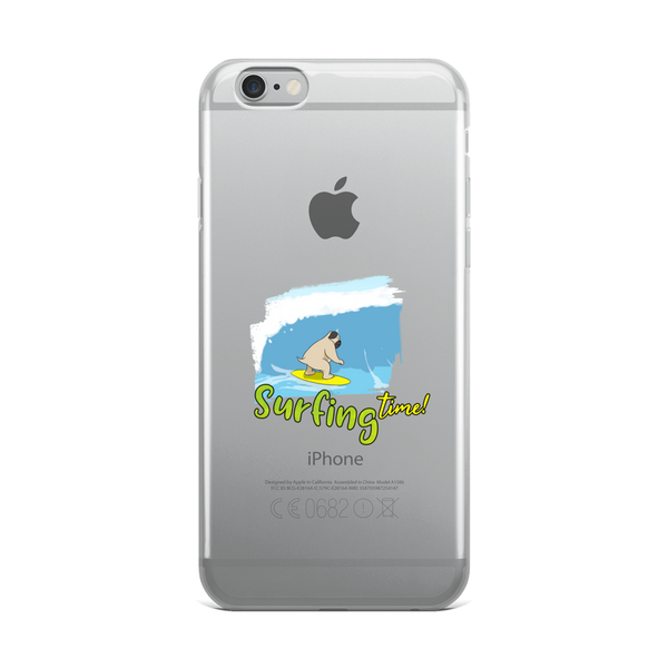 It's Surfing Time02 iPhone Case