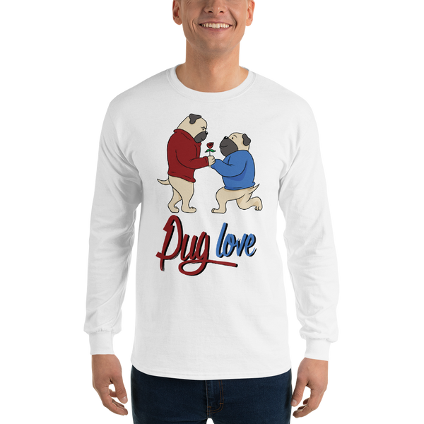 Pug Love07 Gildan 2400 Ultra Cotton Long Sleeve T-Shirt