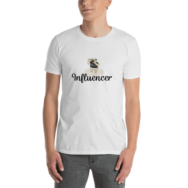 Influencer00125 Gildan 64000 Unisex Softstyle T-Shirt with Tear Away Label